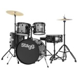 Stagg Drum Set TIM120BL