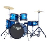 Stagg Drum Set TIM120B