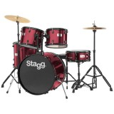 Stagg Drum Set TIM122R