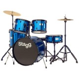 Stagg Drum Set TIM122B