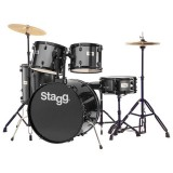 Stagg Drum Set TIM122BK