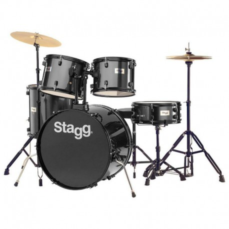 Stagg Drum Set TIM122BL
