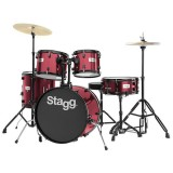 Stagg Drum Set TIM120R